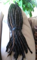 Long Synthetic Dreads by Archer-1
