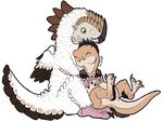 Dinocuddle by AltairSky