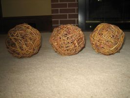 Wicker Balls by Artemis-Stock