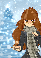 Snowing in Christmas by Rumay-Chian