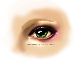 February Eye make up by momohana2