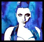 Painting- Amy Lee I. by Ennete