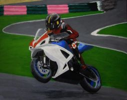 Sport Bike catching some air by Cypher-Black