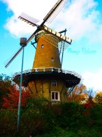 Old Dutch Mill by Namyi-Pictures