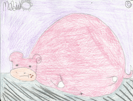 AT: Morbidly Obese Slowpoke by Meli-chan3