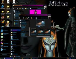 My Twili Desktop by Liquidfire3