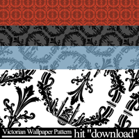 Victorian Wallpaper Pattern by hishy