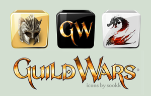 Guild Wars 1 + 2 Dock Icons by SarraDarling