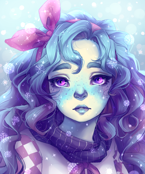 My OC Winter by oWinTer