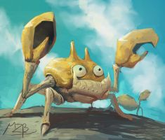 Painting - krabby by Theclockworkpainter