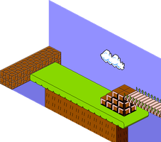 Isometric SMB [W2-3] by BLUEamnesiac