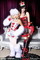 WHITE RABBIT AND RED QUEEN by die-chan