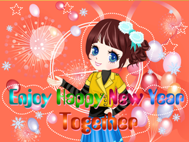 SAY HAPPY NEW YEAR TOGETHER by kute89