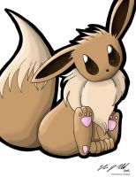 Eevee by clairxi