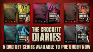 The Crockett Diaries - 5DVD set series by TheIronSkull