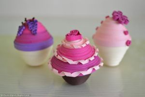 Paper muffins by cridiana