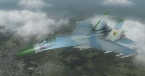 HAWX Weathered Flanker Skin by ACZCipher