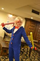 AT: Peppermint Butler, Don't mess with me by YaraiyaCC