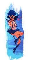 Sailor Mercury by peach-mork