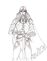 Feanor pencil by Sedeslav