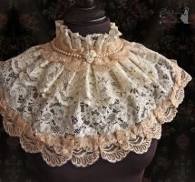 Collar with pearls, Somnia Romantica by M. Turin by SomniaRomantica