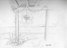 Patio Quick Sketch by Know-The-Ropes
