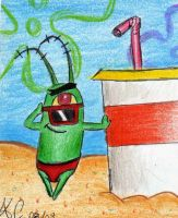 Summer Hotties: Plankton by Spongefifi