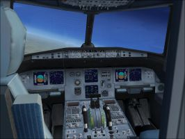 Airbus A321 Cockpit FSX (view from cockpit door) by Dj-Equestrian-LP-Fan
