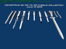 Air To Air Missiles by Stealthflanker