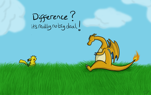 Difference doesn't matter by issabissabel