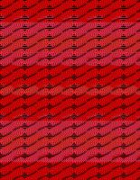 Red Cable Fabric by Jaxxys-Stock
