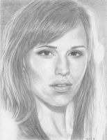 Jennifer Garner by Drawing-You-In