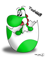 Request - Chibi Yoshi by McTaylis