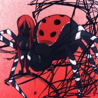 ::LadyBird Spider SOLD:: by Kanji-or-Koi