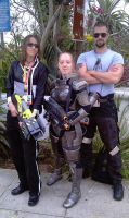 SDCC 2012 - Mass Effect Trio by RebelATS