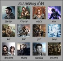 2012 Summary of Art by Isriana