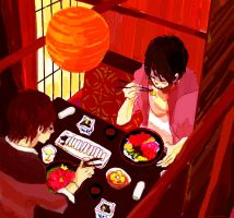 Japanese Lunch by nishikado