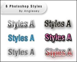 Photoshop Styles A by anglesey