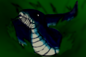 Blue Racer by Bloodstainedhowl