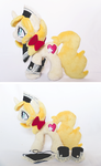 Vive Custom Pony Plush - Commission by tiny-tea-party