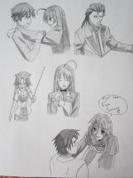 Anime Referencing 4 Rosario Vampire by ChazzVC