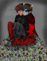 Karkat: Inquire on what the hell you're doing. by davekatkind