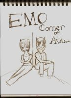 Emo corner of awesome by Un-Pc