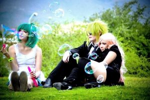 Macross Frontier: Bubbles by sasu89