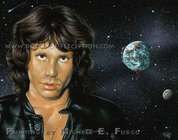 Jim-Morrison-Side-of-the-Dawn by Michele-Fusco