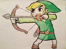 Toon Link by SolidSnake684
