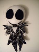 Jack Skellington Plushie: For Sale by ManaInk