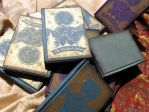 Handmade notebooks, a collab by meluseena