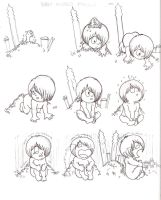 Baby Kitaro Phases by Schreibaby-Zephyr