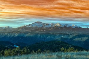 Pikes Peak Sunrise #2 by grandagon